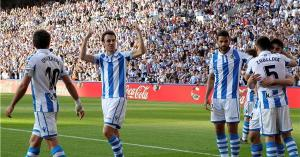 سوسيداد يمزق شباك ريال مدريد