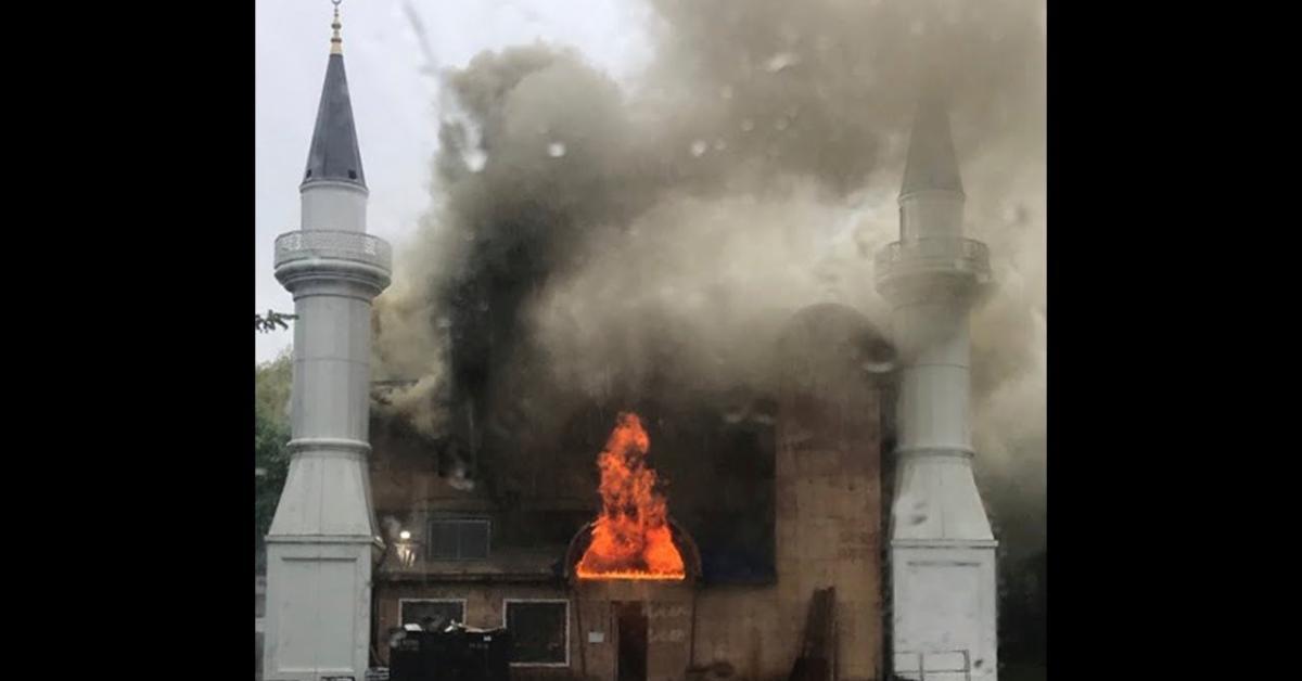 اميركا: حريق مسجد كونيتيكت متعمد