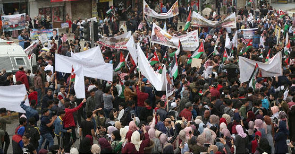 مهرجان داعم للملك في عمّان