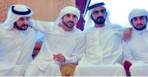 عقد قران أبناء حاكم دبي الثلاثة في يوم واحد