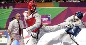 البطل أبو غوش يضمن ميدالية في بطولة العالم