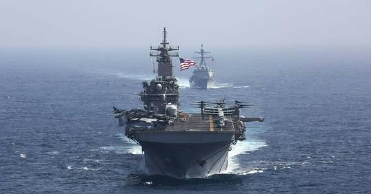 بالصور.. الولايات المتحدة تنفذ مناورات في الخليج