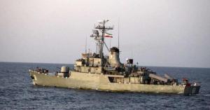 إيران ترسل سفنا حربية إلى المياه الدولية.. صور