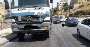 السير تحذر السائقين على طلوع الاستقلال بعمان.. صور