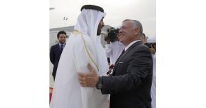 الملك يصل إلى الإمارات