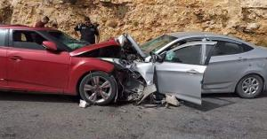 وفاتان و10 اصابات بحادث تصادم في إربد