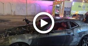 حرق سيارة     ممرضة   السعودية    حرق سيارة ممرضة