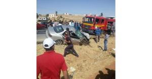 5 إصابات بحادث تدهور مركبة بالزرقاء