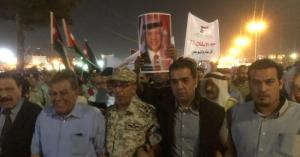 الشهاب والعبداللات يشاركون بمسيره بمناسبة الإستقلال