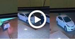 فيديو صادم: سرقة سيارة تعرّض صاحبها لإصابات متعددة