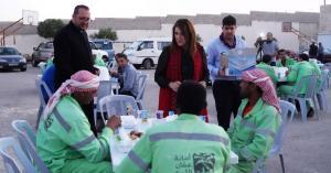حفل افطار رمضاني لعمال الوطن في كنيسة النبي الياس.. صور