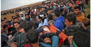 17 جريحاً جراء اعتداء الاحتلال على مسيرات العودة شرق قطاع غزة