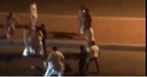 جريمة طعن امام الأمن تثير غضب السعوديين