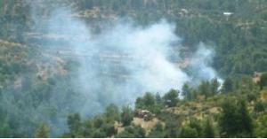 إخماد حريق أعشابوأشجار حرجية في محافظة عجلون