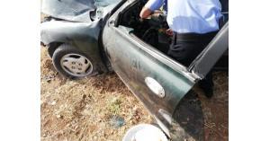 وفاة واصابتان بحادث سير على طريق الستين.. صور