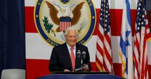 السفير الأميركي: آخر ما يحتاج اليه العالم هو دولة فلسطينية بين إسرائيل والأردن
