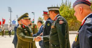"""الملك يرعى """"احتفالات القوات المسلحة"""""""