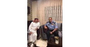 وفد من الأمن العام في زيارة والد أسد القلعه (صور)