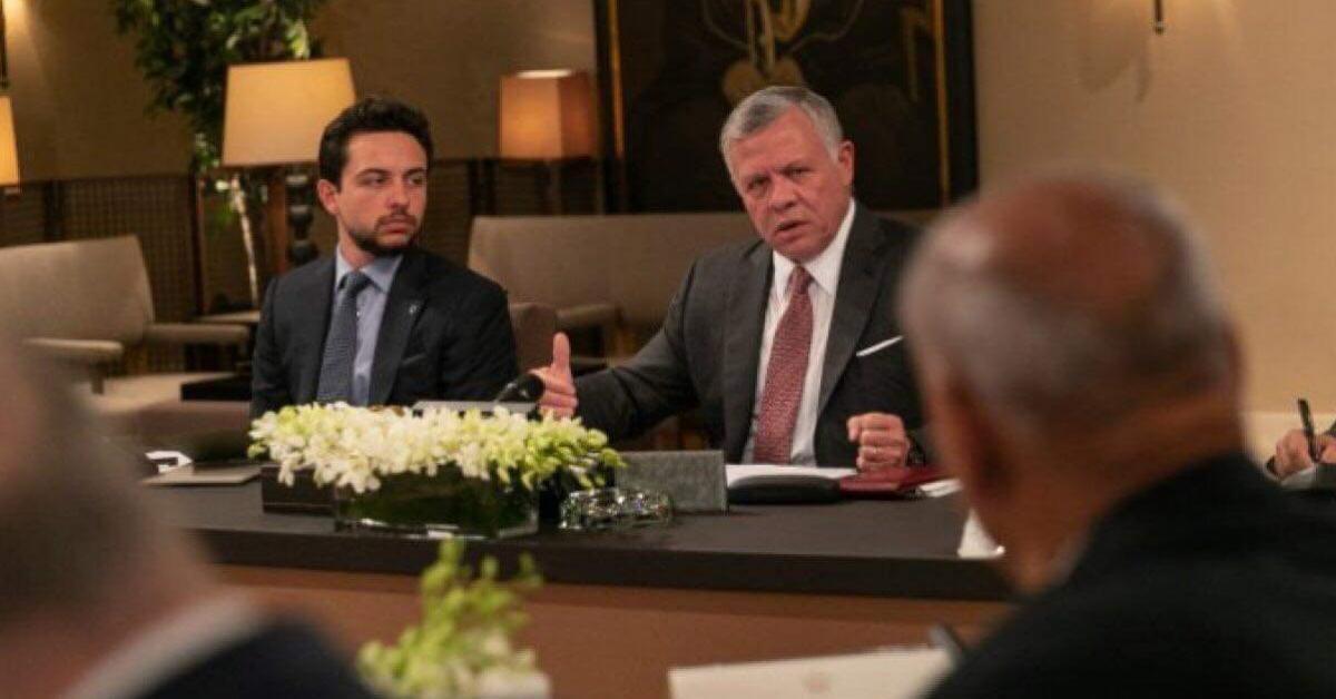 حديث الملك مع سياسيين لم يتطرق إلى مؤتمر البحرين