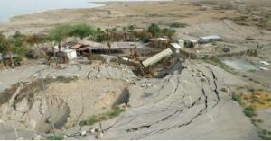 تحذيرات من انهيارات جديدة بمنطقة البحر الميت