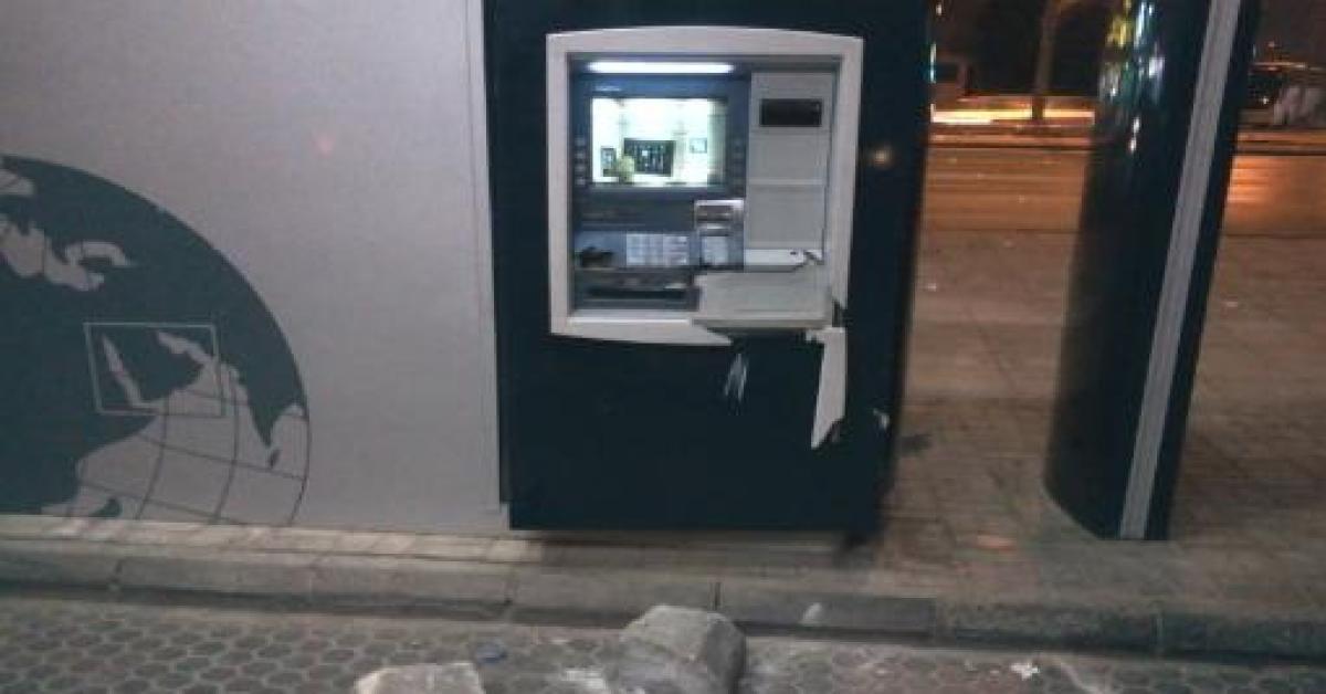 سرقة صراف آلي في جرش