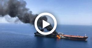 آخر مستجدات الهجوم على ناقلتي نفط في خليج عُمان