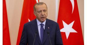أردوغان يهدد بتحريك القوات البحرية والجوية