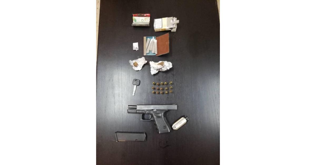 ضبط مطلوب مسلح ومخدرات جنوب العاصمة