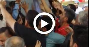 الزرقاء.. معركة بسبب طبق بيض (فيديو)