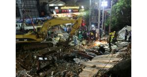 ارتفاع حصيلة المبنى المنهار في كمبوديا الى 17 قتيلاً