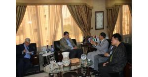 وزير العمل يلتقي سفراء الاتحاد الاوروبي والصيني لدى الاردن(صور)