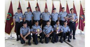 الحواتمة يكرم رماة الدرك الحاصلين على مراكز متقدمة في بطولة الاستقلال