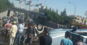 حادث سير في الصويفيه (صور)