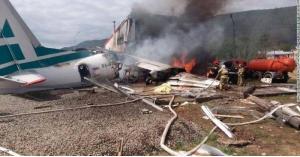 طائرة روسية  حوادث الطائرات روسيا  سيبيريا