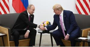 لقاء ثنائي بين بوتين وترامب في اليابان