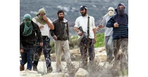مستوطنون يقتحمون الموقع الاثري في سبسطية شمال نابلس