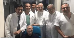 أول صورة للرئيس التونسي بعد الأزمة الصحية