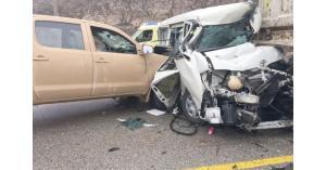 8 اصابات بحادثي تصادم في اربد والبلقاء
