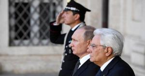 هدية غير متوقعة من بوتين للبابا فرانسيس