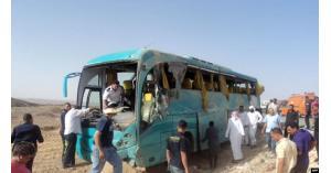وفاة أردني وإصابة آخرين بتصادم حافلة وشاحنة في شرم الشيخ المصرية