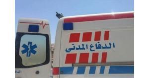 وفاتان بحادث تصادم على طريق إربد الزرقاء