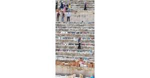 """أبو رمان : فرش المدرج الروماني بآلاف الكتب لإطلاق فعالية """" كتابنا حضارتنا """" هذا المساء"""