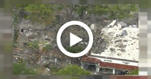 بالفيديو ..انفجار ضخم بمركز تسوّق في فلوريدا الأمريكية