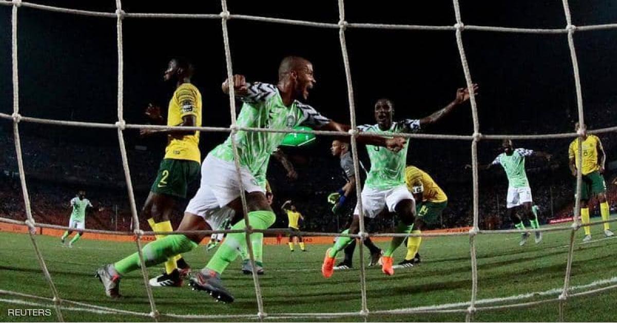 أمم أفريقيا 2019  كأس أمم أفريقيا  منتخب نيجيريا  منتخب جنوب أفريقيا