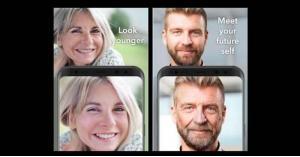 إنترنت  تطبيق   فيس اب faceapp