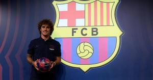 أول تعليق لغريزمان بعد انضمامه لبرشلونة
