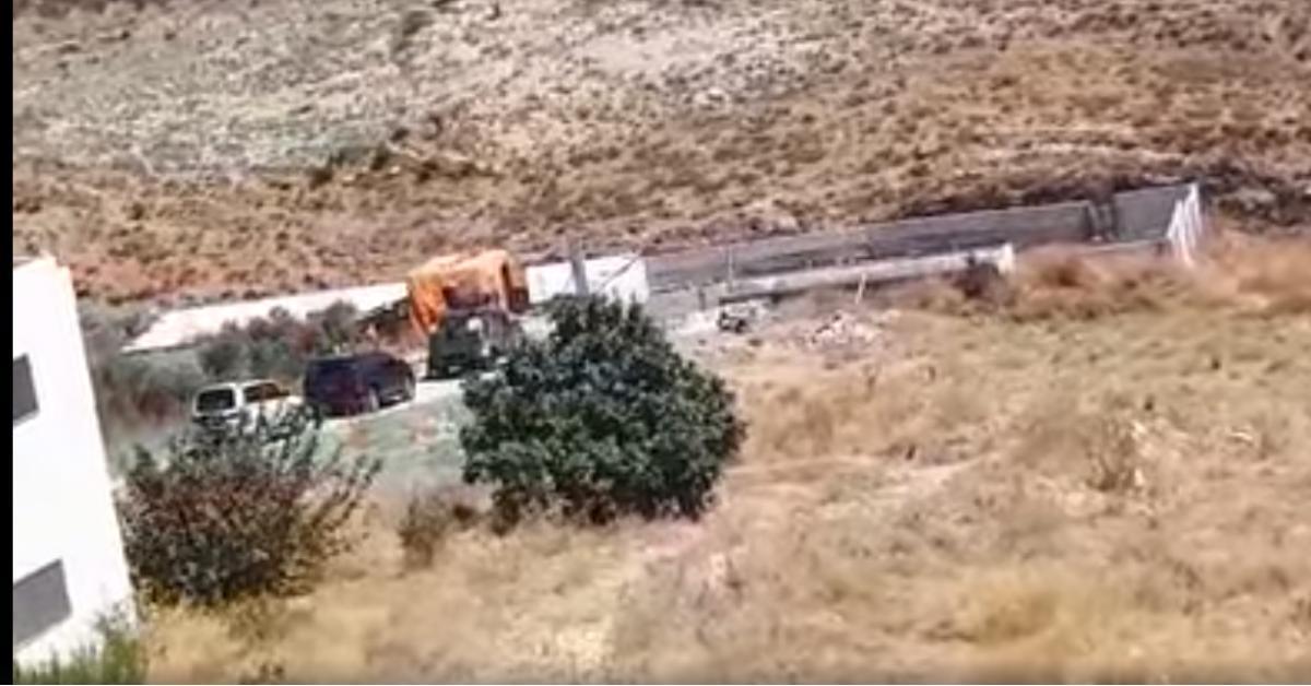 حقيقة العثور على ذهب في دير السعنة (فيديو)