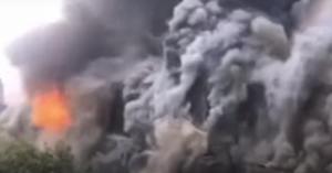 النيران تلتهم فندقا تاريخيا في الصين (فيديو)