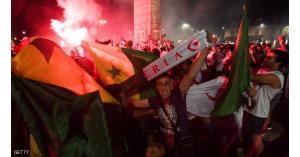 مصرع 4 أشخاص في احتفالات تأهل الجزائر