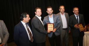 تكريم وكالة سما الاردن بافتتاح مهرجان رئاب للتميز والإبداع